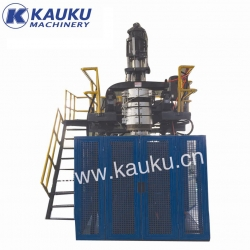 Full automatic hollow blow molding machine